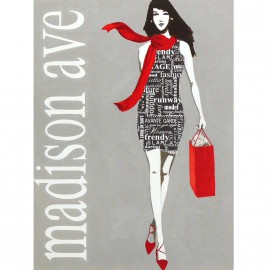 Carte d'art fashion type 1
