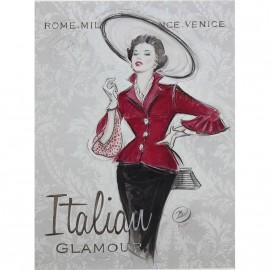 Carte d'art italian glamour