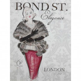 Carte d'art bond street elegance