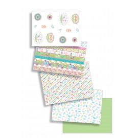 Pergamano papier parchemin assort jardin d'été 62596 5fe