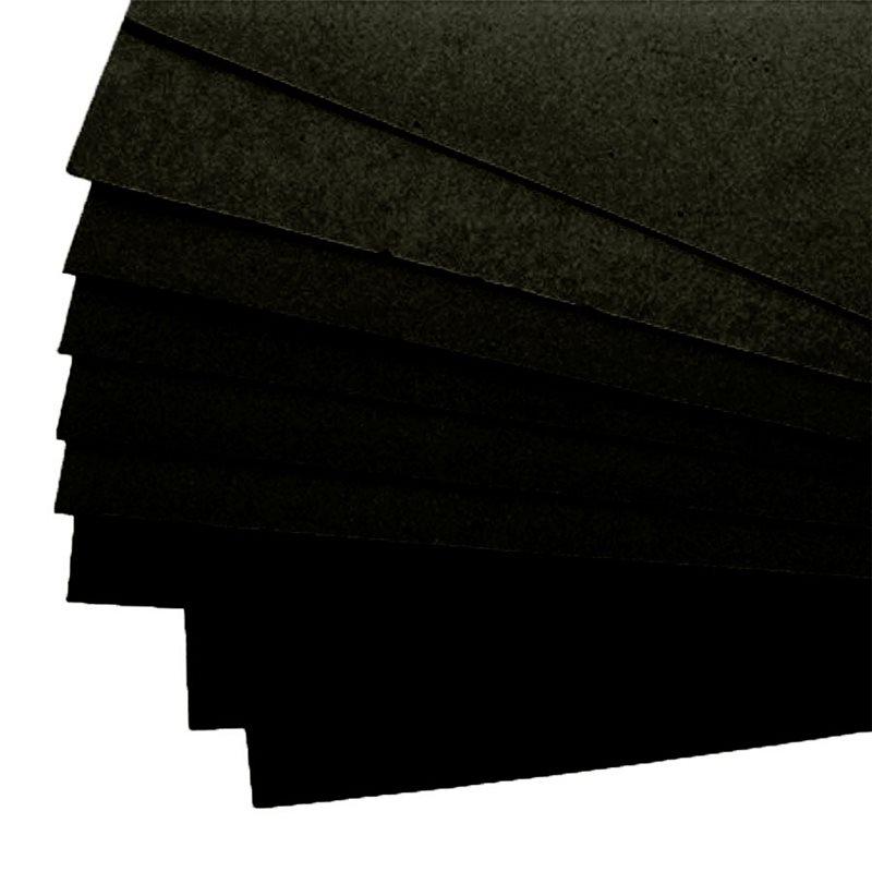 carton mousse carton plume noir 5mm 50x65 achat vente. Black Bedroom Furniture Sets. Home Design Ideas