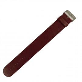Montre Stamps bracelet de montre Jack Smart lie de vin