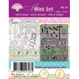 Pergamano kit de réalisations de cartes jardin d'été 71010