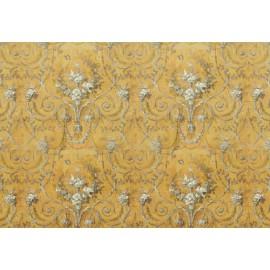 Papier de riz Stampéria tapisserie sur fond or 48x33cm