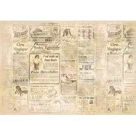 Papier de riz Stampéria Journal 48x33cm