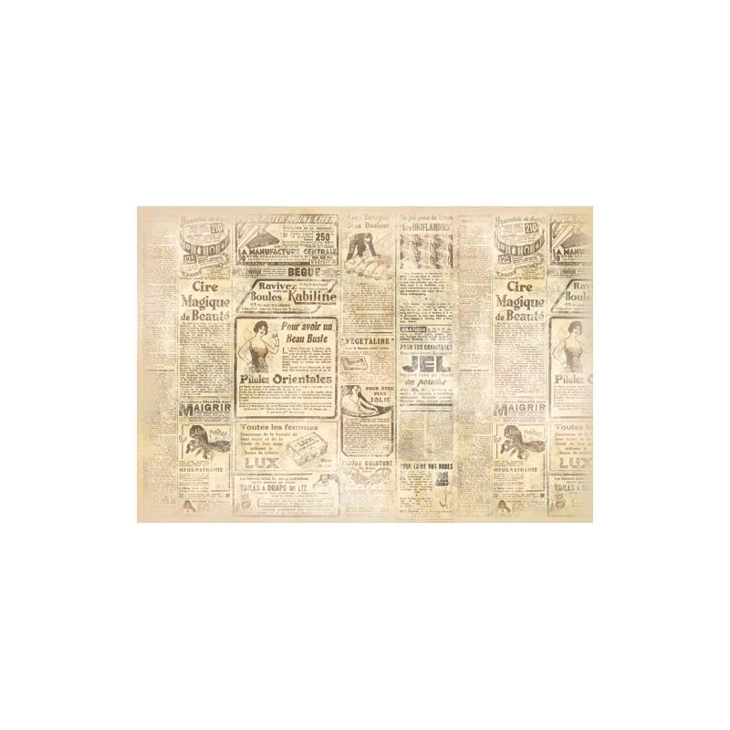 papier de riz stamperia pour d coupage journal achat vente. Black Bedroom Furniture Sets. Home Design Ideas