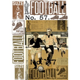 Papier de découpage Graffitis Football 50x70cm
