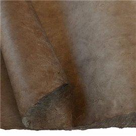 Papier népalais lokta lamaLi marron charbon