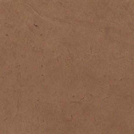 Papier népalais lokta lamaLi marron sienne