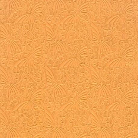Papier fantaisie papillons safran