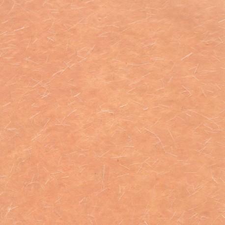 Papier fantaisie opaque pastel pêche fil soie