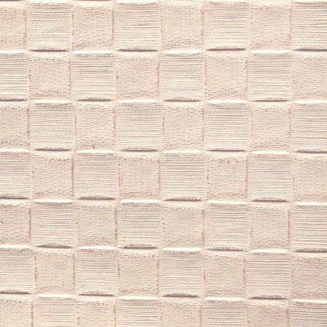 Papier fantaisie damier blanc argent
