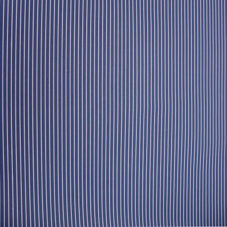 Papier à motifs marine rayure bleue