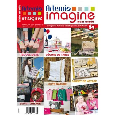 Magazine Artemio Imagine n°24 juil aout sept 2013