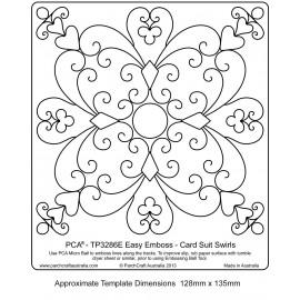 Template parchemin motifs avec courbes