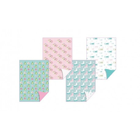 Pergamano papier dessin collection festival d'hiver 62599 4fe