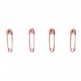 épingles à nourrice rose par 100 2cm