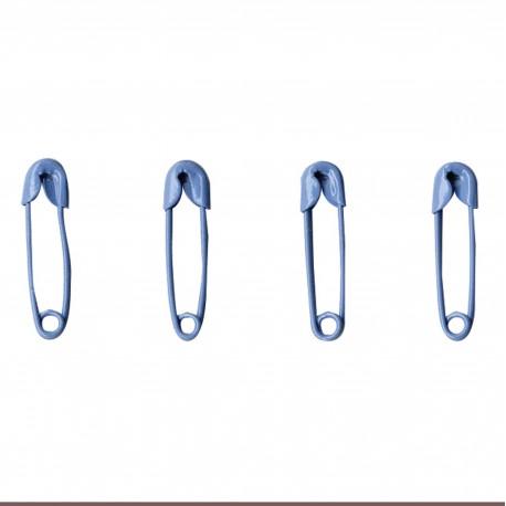 épingles à nourrice bleu par 36 2cm