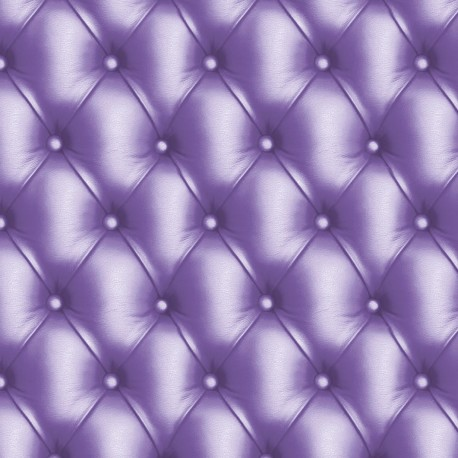 Feuilles décopatch capitonné violet