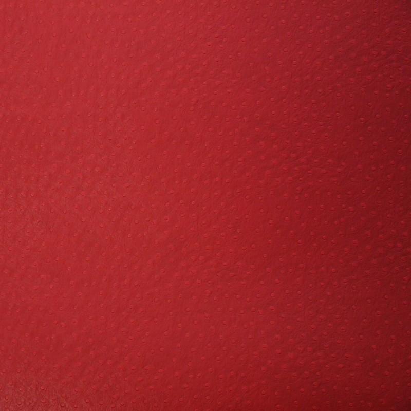 papier simili cuir pour cartonnage autruche rouge. Black Bedroom Furniture Sets. Home Design Ideas