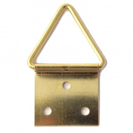 Attaches encadrement triangle 3 trous x10
