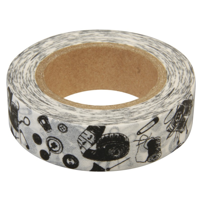 masking tape couture ruban papier adh sif washi neuf ebay. Black Bedroom Furniture Sets. Home Design Ideas