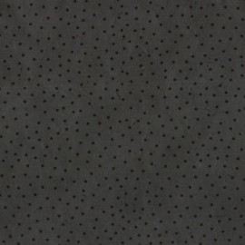 Papier népalais lokta motifs semis gris anthracite et noir