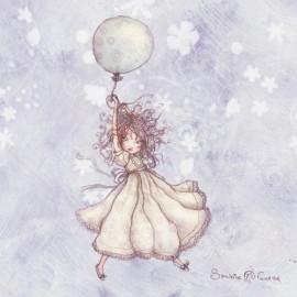 Carte postale Sandrine Fourrier miss ballon