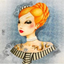 Carte postale Misstigri barbara