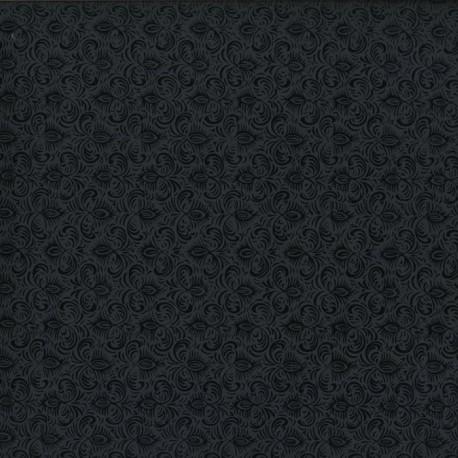 Papier fantaisie jasmine noir
