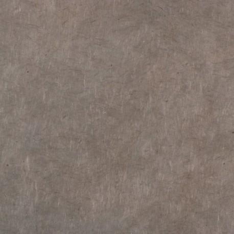 Papier népalais lokta gris taupe
