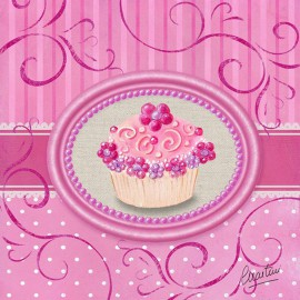 Carte postale Catherine Martini cupcake