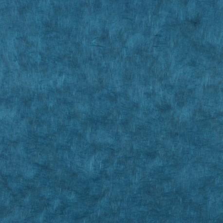 Papier népalais lokta bleu pétrole