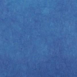 Papier népalais lokta bleu saphir