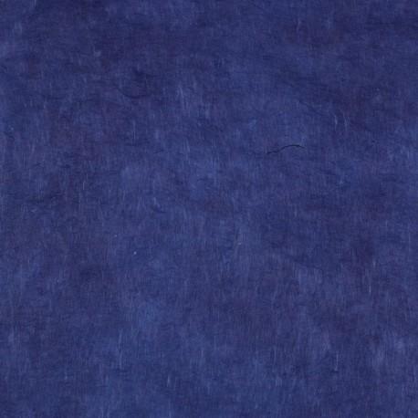 Papier népalais lokta bleu marine
