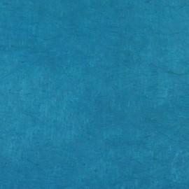 Papier népalais lokta bleu cyan