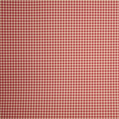 Papier tassotti motifs carreau vichy rouge