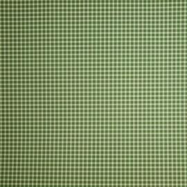 Papier tassotti motifs carreau vichy vert