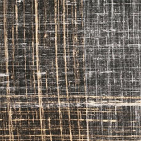 Papier fantaisie noir artiste strié or et argent