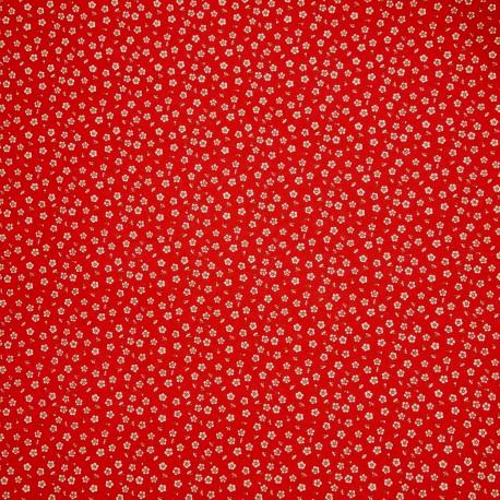papier origami papier japonais washi fleurs blanches fond rouge. Black Bedroom Furniture Sets. Home Design Ideas