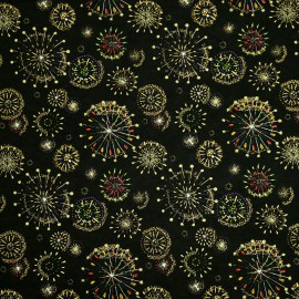 Papier japonais washi artifices noir