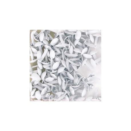 Attaches parisiennes blanche 7mm