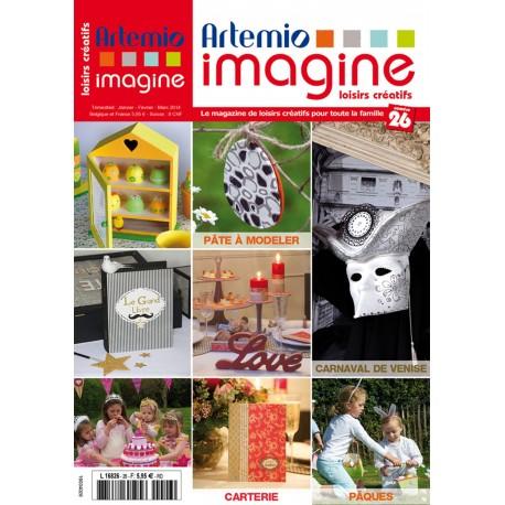 Magazine Artemio Imagine n°26 janv fév mars 2014