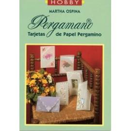 Livre Pergamano Martha Ospina spécial cartes espagnol