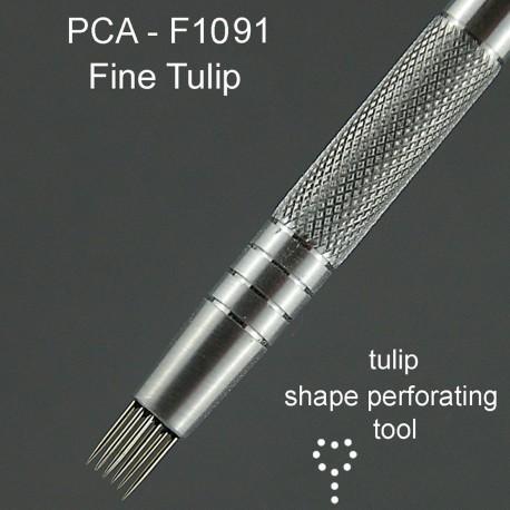 ParchCraft Australia outil de perforation fines en forme de tulipe