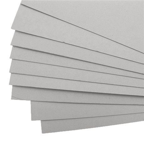 Cartonnage Carton gris 1mm 50x70cm