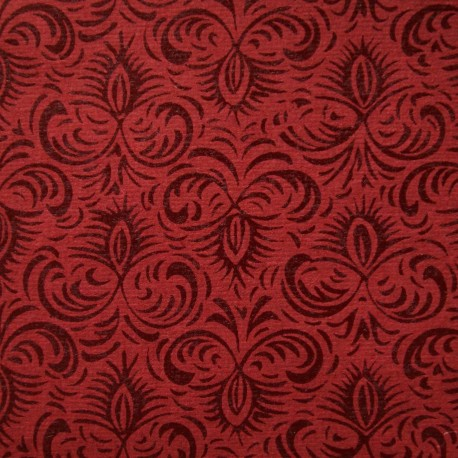 Papier fantaisie jasmine rouge
