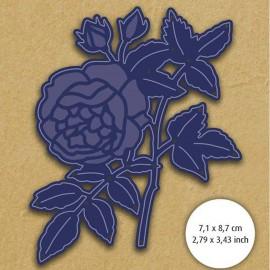 Dies découpe gaufrage matrice Aurélie bouquet de roses