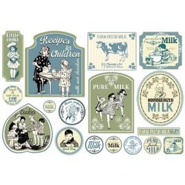 Papier de découpage Stampéria milk