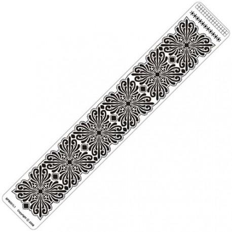 Siesta grille parchemin règle 4x25cm SPB001LR